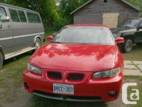 Make. Pontiac. Version. Grand Prix Turbo. Year. 1998.