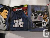 I have Grand Theft Auto The Trilogy for Xbox. Comes
