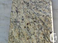 Granite slab wth garnet inclusions Nicely finished for