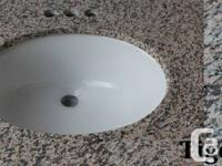 Granite Vanity Countertops with sinks - $150   NEW Real