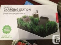 Grassy Charging Station   Brand New In Box!   Asking