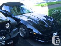 Make Chevrolet Model Corvette Year 1989 Colour Black