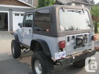 Make Jeep Model YJ Year 1988 Colour grey kms 285000
