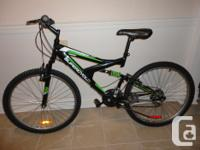 Selling a adult size 18 speed mountain bike with front