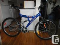 Selling an adult size full suspension mountain bike in