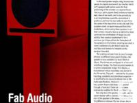 FAB AUDIO VERSION 1. Available is the set of speakers