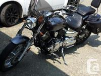 2010 Yamaha 1100 Vstar Custom bought new out of the