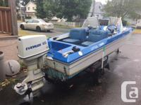 Great 14' Bow rider for sale with trailer, Have all the
