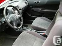 Make Honda Model Civic Year 1998 Colour RED kms 97000