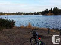 One year old well maintained mountain bike structured