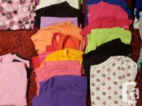 This lot of clothes contains 5 pairs of pants (4
