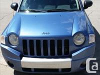Make Jeep Model Compass Year 2007 Colour Blue kms