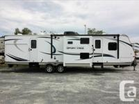 2014 Sport Trek is 33 feet in length with 3 slides,
