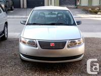 Make Saturn Model Ion Sedan Year 2007 Colour Silver