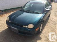 Make Dodge Model Neon Year 1998 Trans Automatic kms