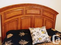This full suite - headboard, footboard, 2 matching