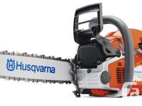 Great promos on now on new Husqvarna, Stihl, Echo and