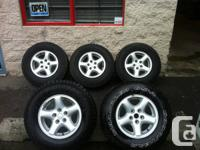 JUST ARRIVED TODAY 4 LIKE NEW RIMS FROM JEEP (FACTORY