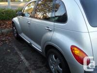 Make Chrysler Year 2001 Colour silver Trans Manual kms