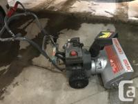 "great working used Craftsman 5hp 22"" wide snow blower"