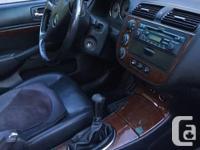 Make Acura Model EL Year 2003 Colour Silver kms 279000