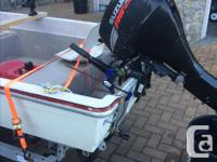 14 foot boston whaler (Gamefisher). Fiberglass with a