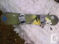 This is a great beginners snowboard and recommended for