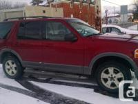 I have a 2003 4 door ford explorer xlt for sale. Power