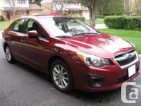 Make. Subaru. Model. Impreza Sedan. Year. 2013.