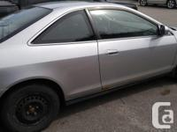 Make Honda Year 2002 Colour Silver Trans Automatic kms