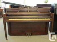 Willis console piano - no bench.  The cabinet is quite