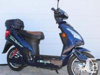 I have an electric scooter to sell. It is a Green