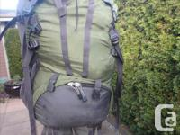 75 litre (4650 cu in) Gregory Shasta multi-day backpack