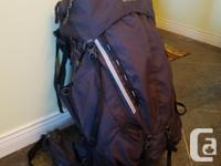 Gregory Stout 65L backpack for sale. In great shape,