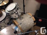 "Gretsch Catalina series 18"" ftt converted to bass drum"