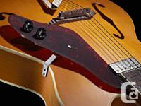 I have a Gretsch G100CE archtop guitar for sale - it's