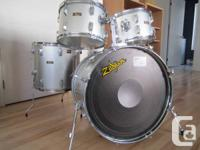 4 pc Pearl drum kit 12. 13. 16, 22, $180 with good