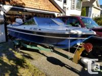 Canadian made Grew 147 - 15ft boat with 70hp Johnson 2