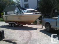 Good condition GREW 215 boat. 21.5 foot. 188HP