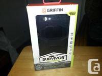 Griffin Black/Black Survivor All-Terrain Case + Belt