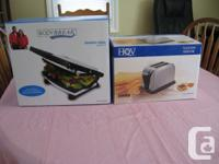 I have brand new Panini Grill & Toaster brand new in