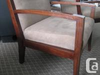 Set of 2 Arm Chairs * Strong, Sturdy & Very Comfortable