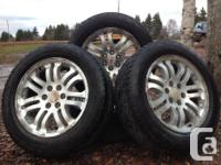 "Set of 4, 20""Manufacturing plant GM Wheels w/"
