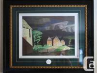Beautifully framed and matted print of A.J. Casson's