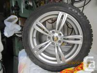 collection of 4 TOYO Observe GSI-5 M&S Tires 235/50 R18