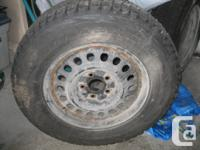 List ad for relative:. Set of 4 winter season tires on