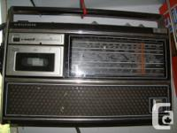 Mid 70's Multi band radio, was used in the garage,