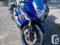 Make Suzuki Model Gsx Year 2003 kms 25419 2003 Suzuki,