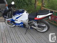 2000 gsxr 750 Looking to trade For Dirt bike,quad or