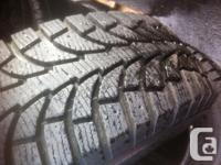 GT Radial IcePro winters. P215/70R15. Near new disorder